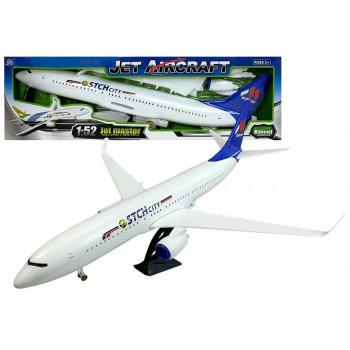 Samolot 1:52 Napęd Frykcyjny Dźwięk Światła