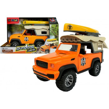 Auto Samochód Campingowy Jeep Dźwięki i Światła
