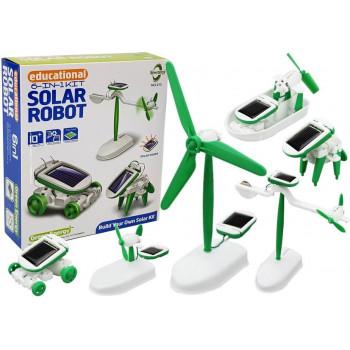 Zestaw Solarny Edukacyjny 6w1
