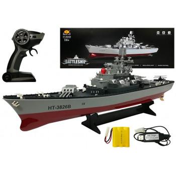 Statek Krążownik Zdalnie Sterowany R/C 1:250 2.4G