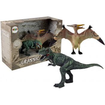 Zestaw Figurek Dinozaur Spinosaurus, Pteranodon