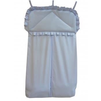 Torba na pieluszki do łóżeczka