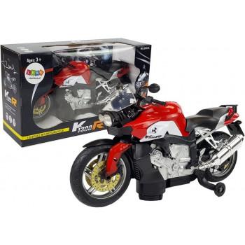 Motocykl na Baterie Czerwony