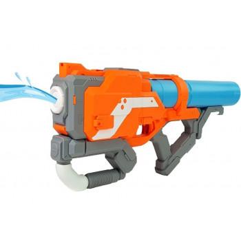 Duży  Pistolet na wodę Pomarańczowy 64 cm długości