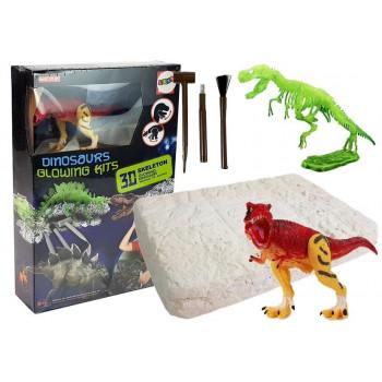 Zestaw Archeologiczny Szkielet Wykopaliska Dinozaur Tyranozaur Rex