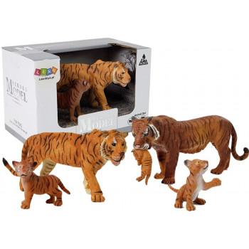 Figurka Zwierzęta Afrykańskie Tygrys Tygrysiątko