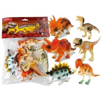 Zestaw Figurki Dinozaurów 10 cm 6 sztuk