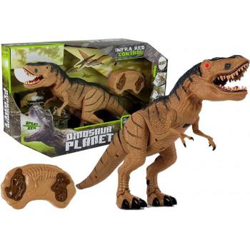 Dinozaur Tyranozaur Rex Zdalnie Sterowany R/C z Parą