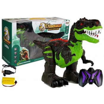 Dinozaur Tyranozaur Zdalnie Sterowany R/C Dźwięk Światła