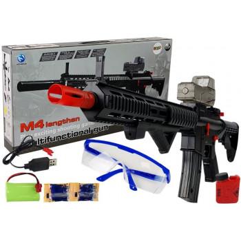 Karabin Pistolet M4 Kulki Żelowe Akumulator 93.5 cm