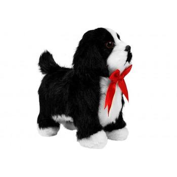 Interaktywny Piesek Czarno-Biały Porusza się, Szczeka