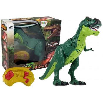 Dinozaur Zdalnie Sterowany R/C z Parą, Dźwiękami
