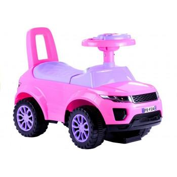 Jeździk dla Malucha 613W Gra + Świeci Różowy