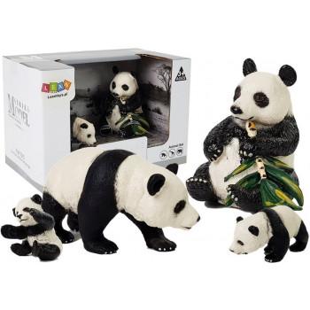 Figurka Zwierzęta Zestaw Panda