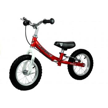 Rower Biegowy CARLO Rowerek Do Odpychania Czerwony