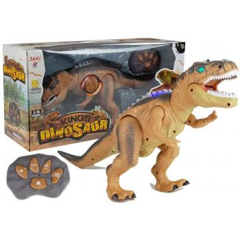 Dinozaur Zdalnie Sterowany Tyranozaur Świeci Ryczy