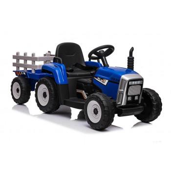 Traktor na Akumulator z Przyczepą XMX611 Niebieski