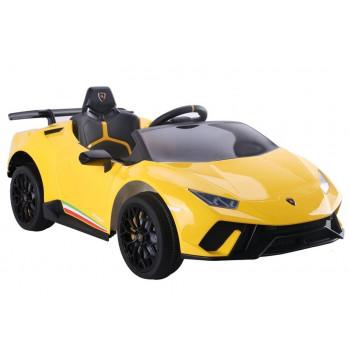 Auto na akumulator Lamborghini Huracan Żółte