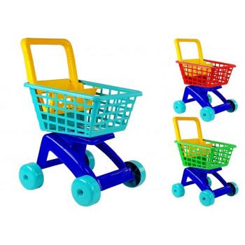 Duży Wózek marketowy sklepowy Koszyk na zakupy 5022