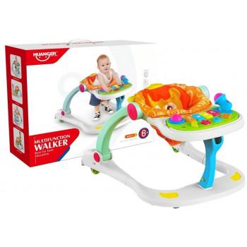 Jeździk edukacyjny Pchacz Chodzik dla niemowlaka 4w1