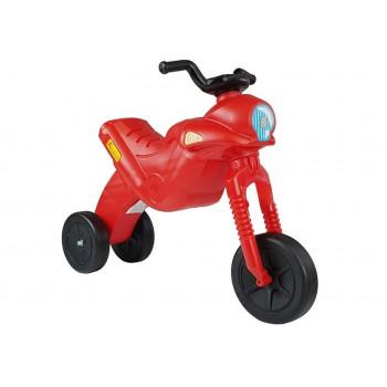 Motorek Biegowy Trójkołowy Enduro Jeździk Czerwony 5045 42 cm wysokości