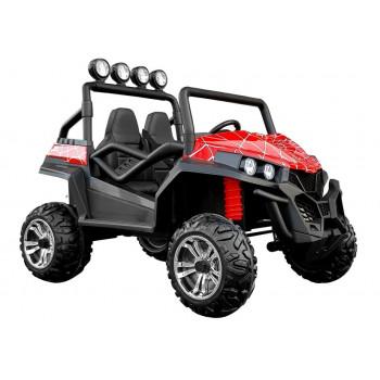 Auto na Akumulator S2588 Czerwony Lakier Spider