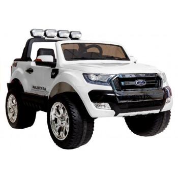 Auto Na Akumulator Ford Ranger 4x4 Biały LCD