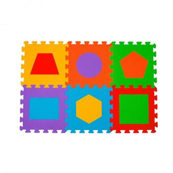 Puzzle piankowe 6szt figury...