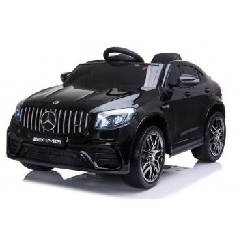 Auto na akumulator Mercedes QLS-5688 Czarny Lakier 4x4