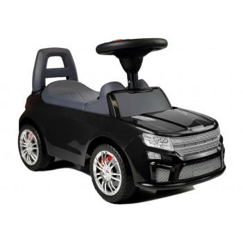 """Samochód Jeździk """"SuperCar"""" Nr6 z Dźwiękiem 84613 Czarny"""
