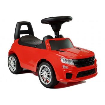 """Samochód-jeździk """"SuperCar"""" Nr6 z sygnałem dźwiękowym 84590 Czerwony"""