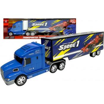 Zestaw Pojazdów Ciężarówka Transporter 1:24