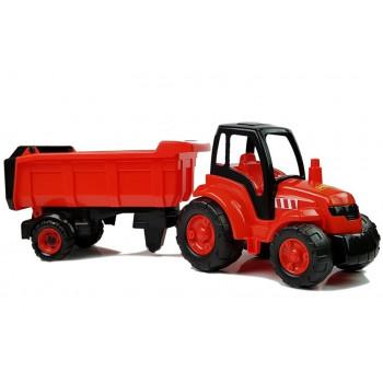 Traktor z Naczepą Polesie  74 cm 0445