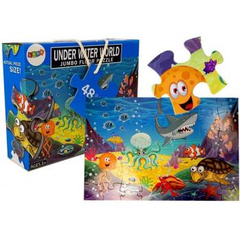 Puzzle Podwodny Morski Świat 48 elem