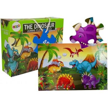 Puzzle Układanka Świat Dinozaurów 48 elem