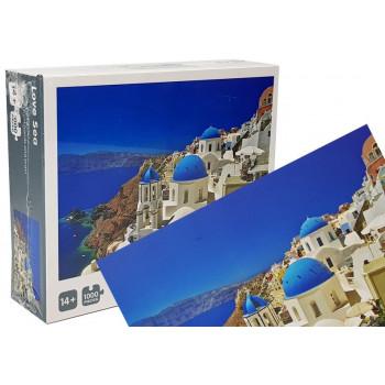 Puzzle Grecja Morze 1000 elementów