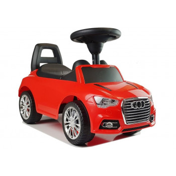 """Samochód Jeździk """"SuperCar"""" Nr2 z Dźwiękiem 84545 Czerwony"""