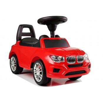 """Samochód Jeździk """"SuperCar"""" Nr5 z Dźwiękiem 84583 Czerwony"""