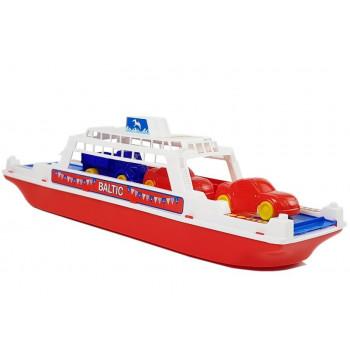 """Prom """"Bałtyk""""  Statek z Autkami 4 szt. 56689"""