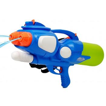 Pistolet Na Wodę Duży Magazynek 2500 ml Niebiesko- Zielony