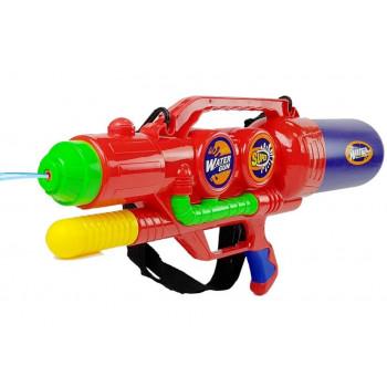 Duży Pistolet Na Wode Czerwony 67cm