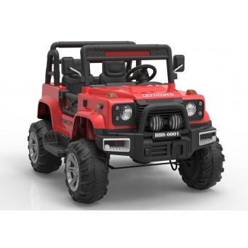 Auto na Akumulator BBH-0001 Czerwony