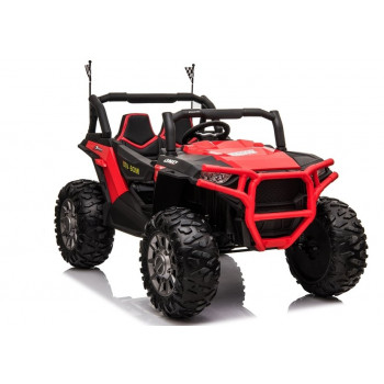 Auto na Akumulator jeep JC999 Czerwony