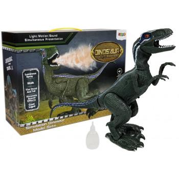 Interaktywny dinozaur na baterie