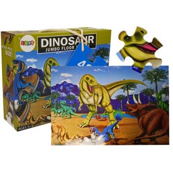 Puzzle Układanka Dinozaury 48 Elementów