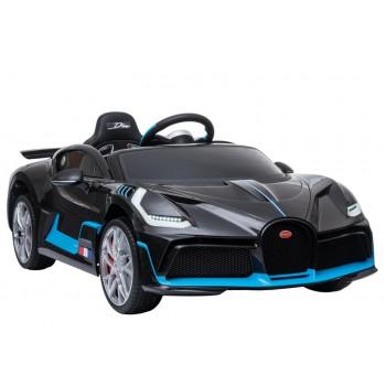 Auto na Akumulator Bugatti Divo Czarny Lakierowany