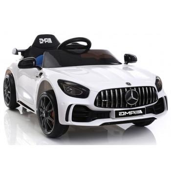 Auto na Akumulator Mercedes GTR Biały
