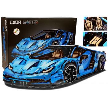 Klocki Konstrukcyjne Auto Cada  770-4 Master Samochód Wyścigowy 3842 Elementy
