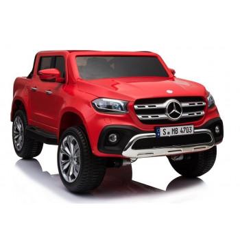 Pojazd Na Akumulator Auto Mercedes X Czerwony
