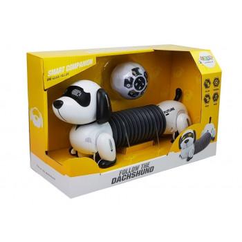 Interaktywny Pies Robot Zdalnie Sterowany Muzyka Dźwięk Pilot Piłka